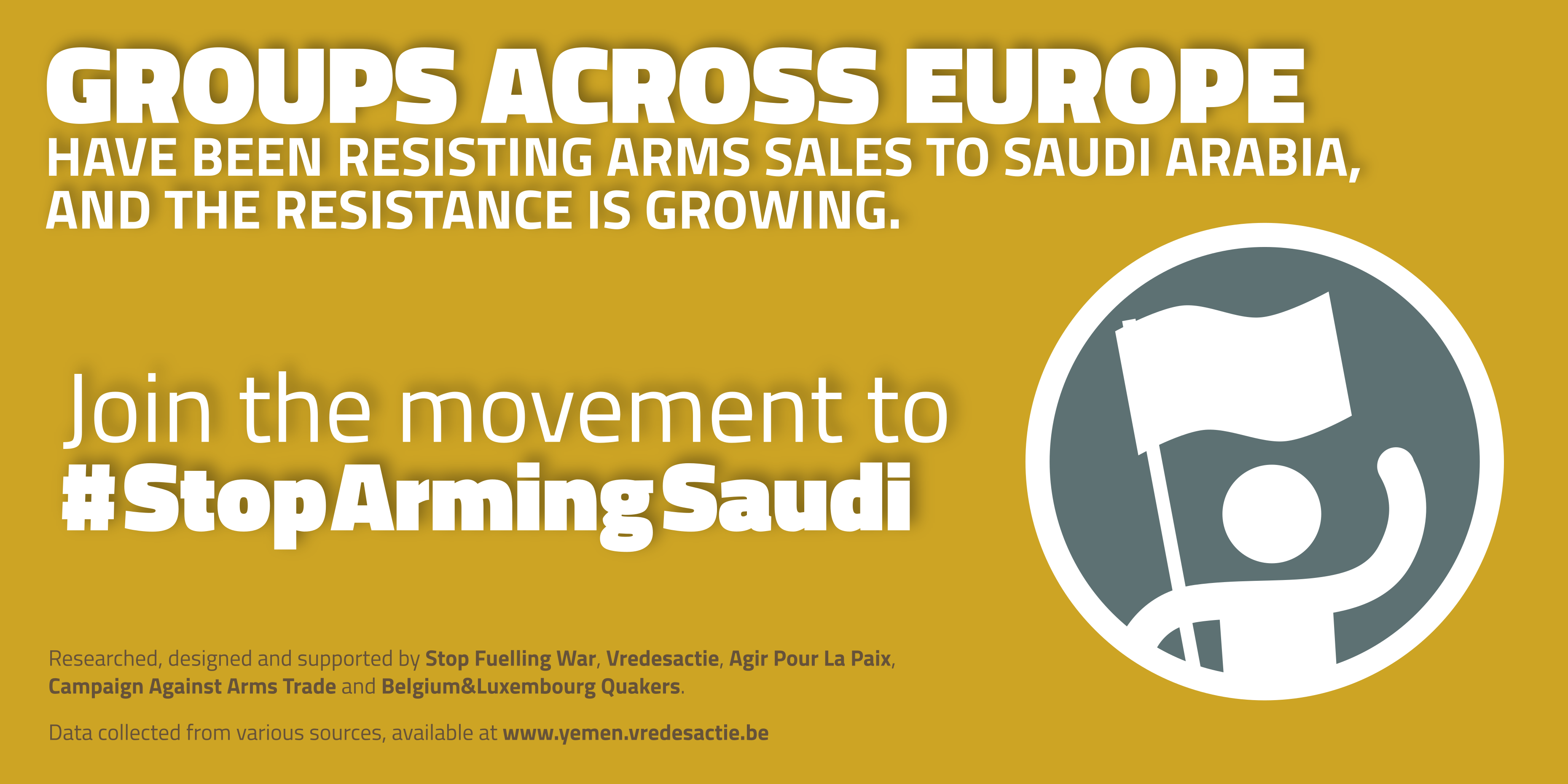 Join the movement to stop arming Saudi Arabia