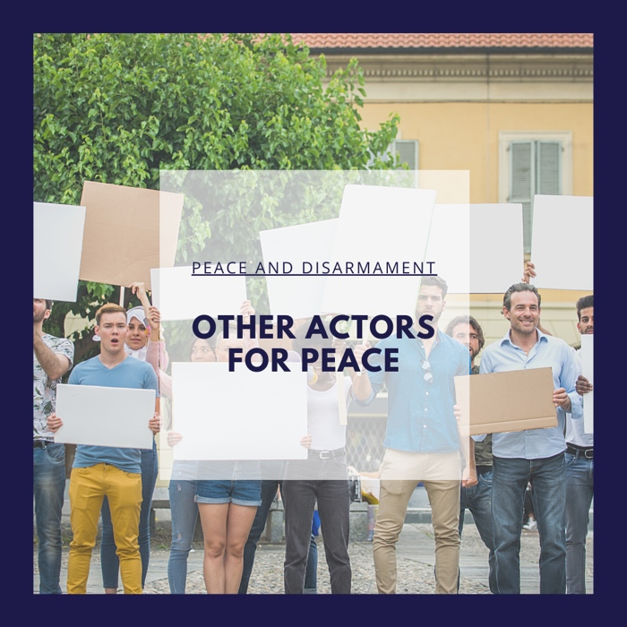 Other Actors for Peace